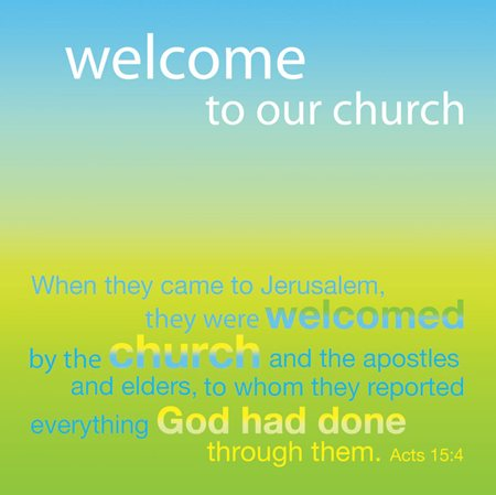 Gallery For > Church Greeting